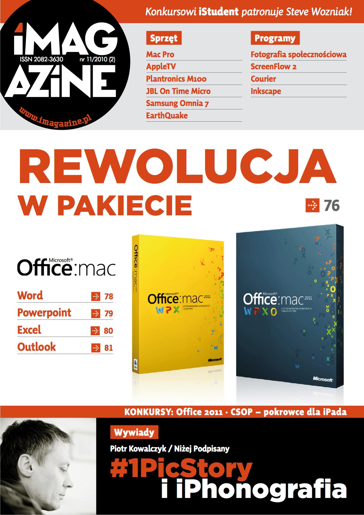 iMagazine 11/2010 – Office 2011 i iPhonografia