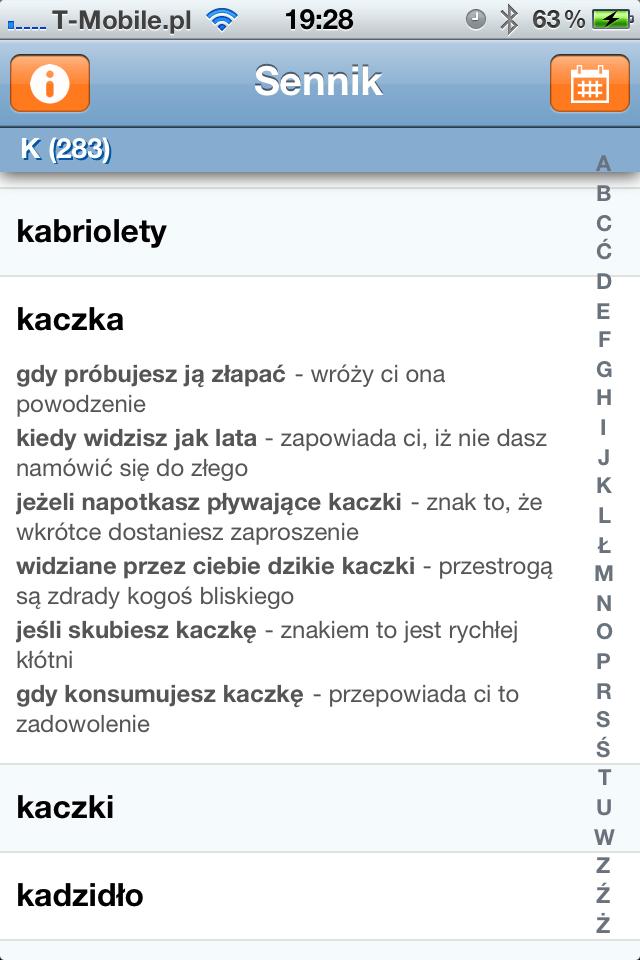Sennik Polskie Aplikacje W App Store Imagazine