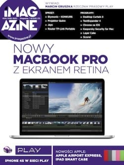 iMagazine 7-8/2012 – Nowy Macbook Pro z ekranem Retina, iPhone 4S w Play