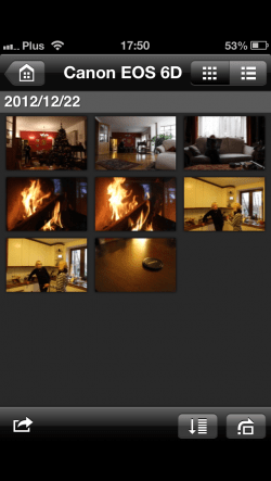 Canon 6D EOS Remote App-3 bez iPhonea