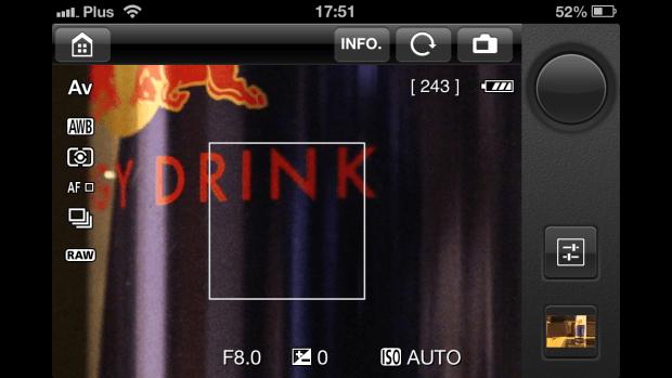 Canon 6D EOS Remote App-7 bez iPhonea
