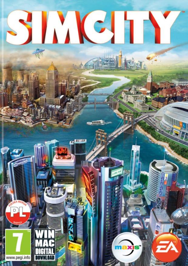 Okladka SimCity MAC