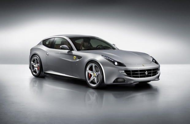 Ferrari FF silver
