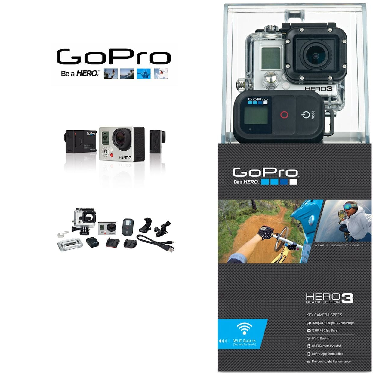 recenzja gopro hero 3 black edition wideo imagazine. Black Bedroom Furniture Sets. Home Design Ideas