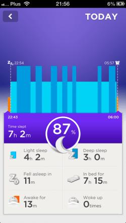 Jawbone Up Night