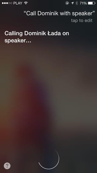 Nawiązywanie połączeń głosowych wtrybie głośnomówiącym