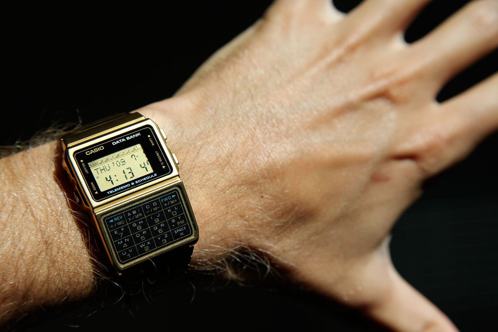 Casio zegarek z kalkulatorem