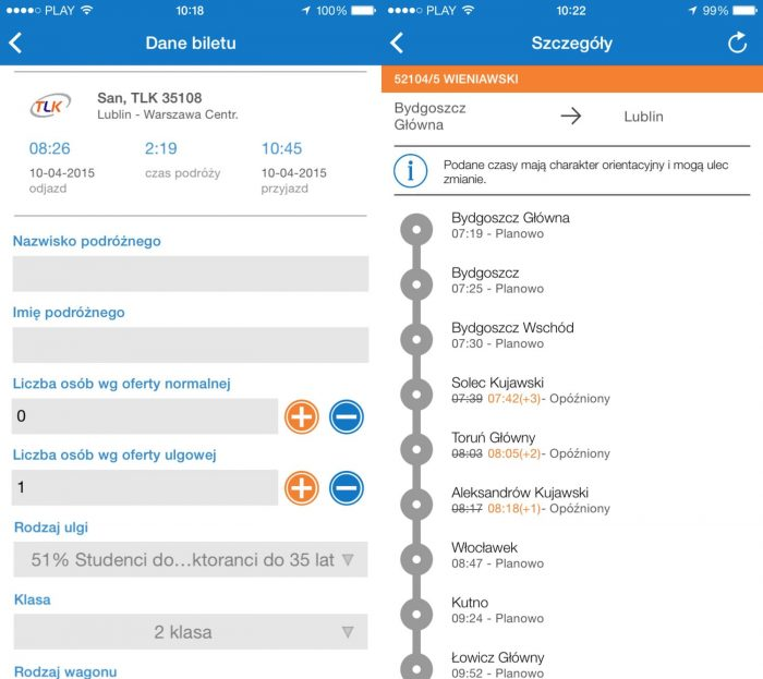 PKP Intercity App 02