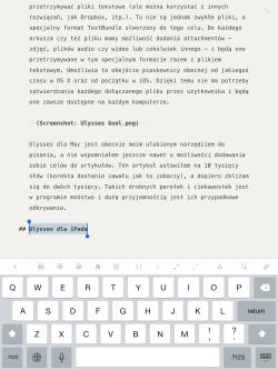 Ulysses iPad 01