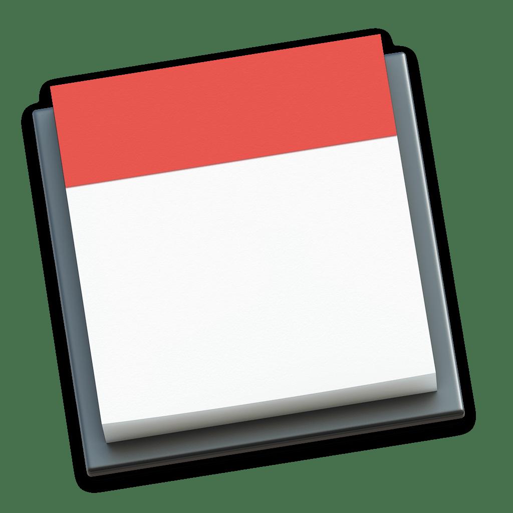 Calendar icon empty 1024px