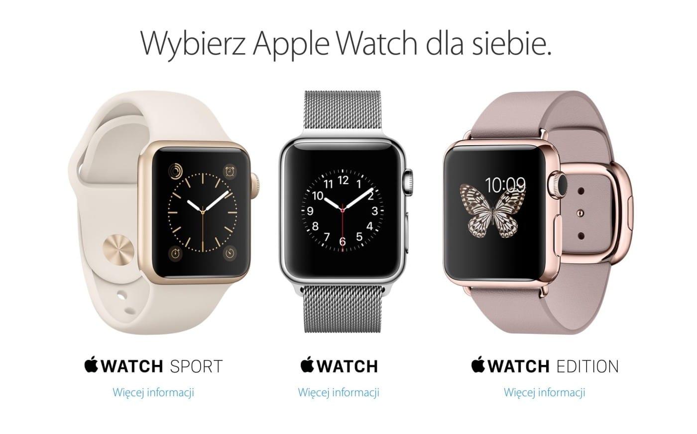 Apple Watch już wPolsce!