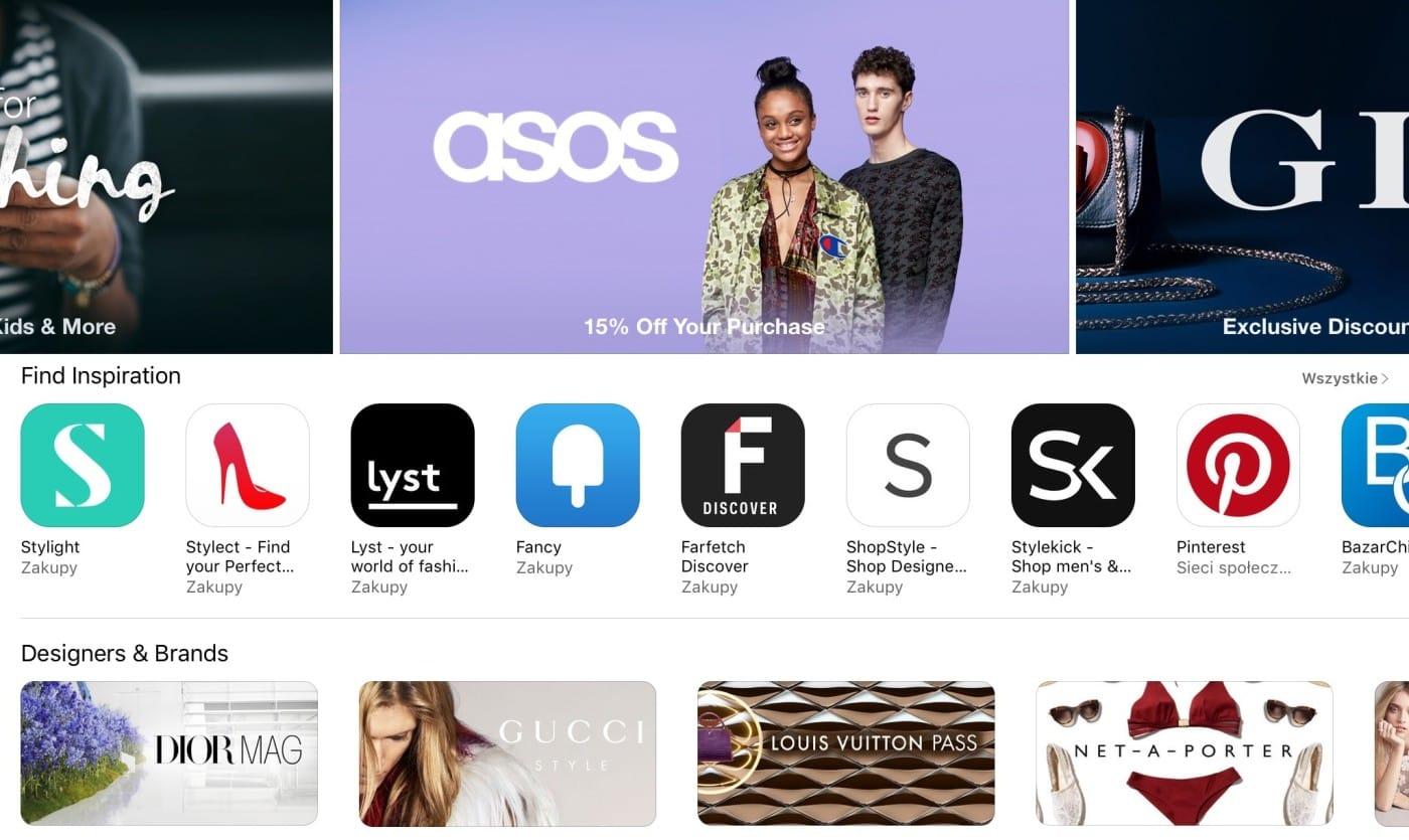 Zakupy – nowa kategoria wApp Store