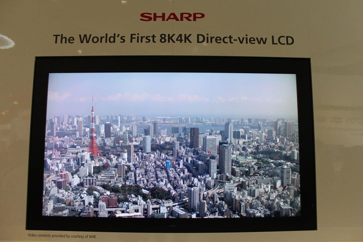 Telewizor Sharpa zaprezentowany na IFA 2011 w Berlinie