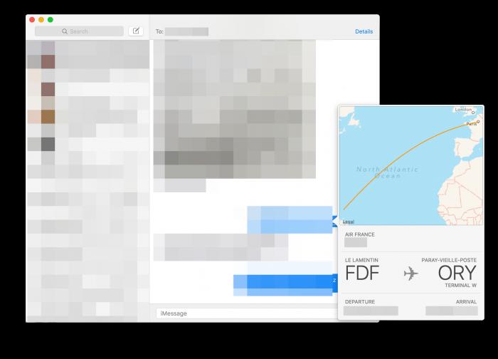 Rozpoznawanie lotow OS X