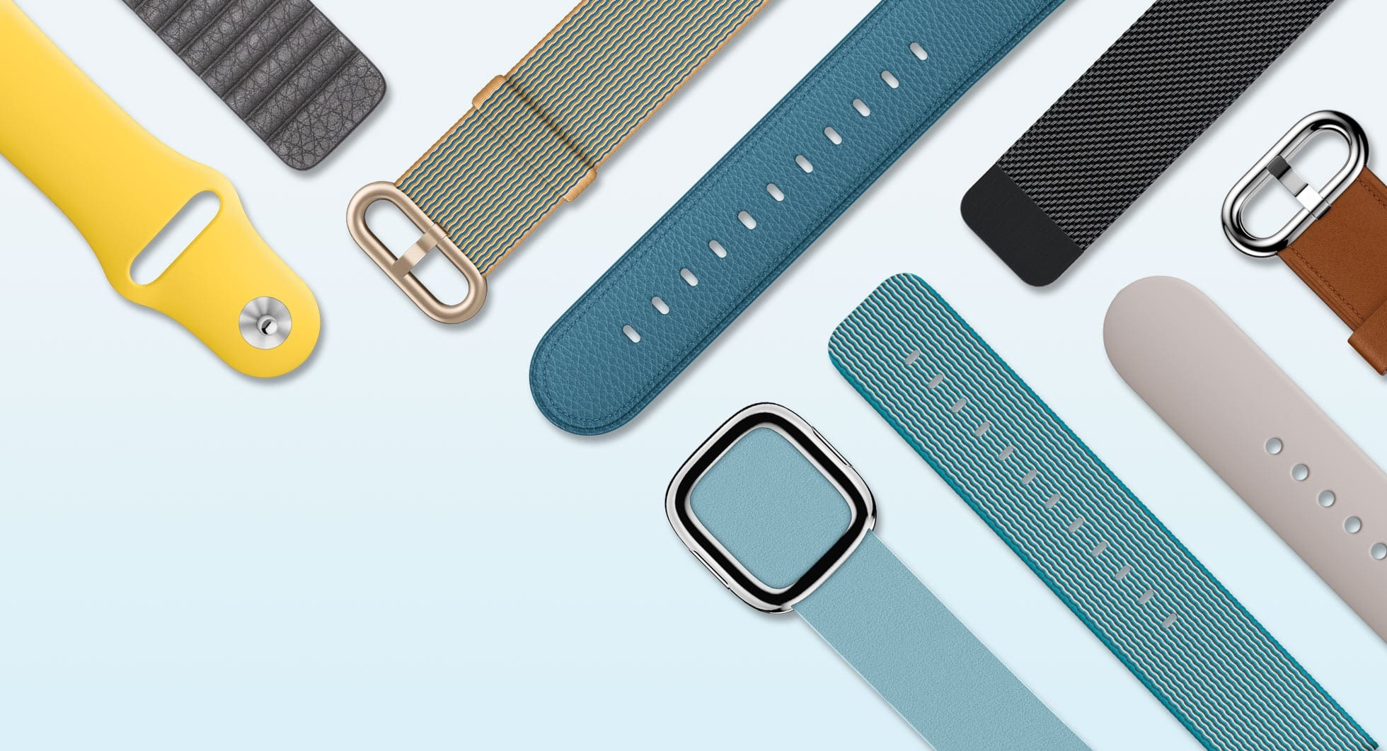 Apple Watch March 2016 bands hero