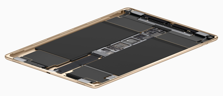 iPad Pro 9.7 inside hardware