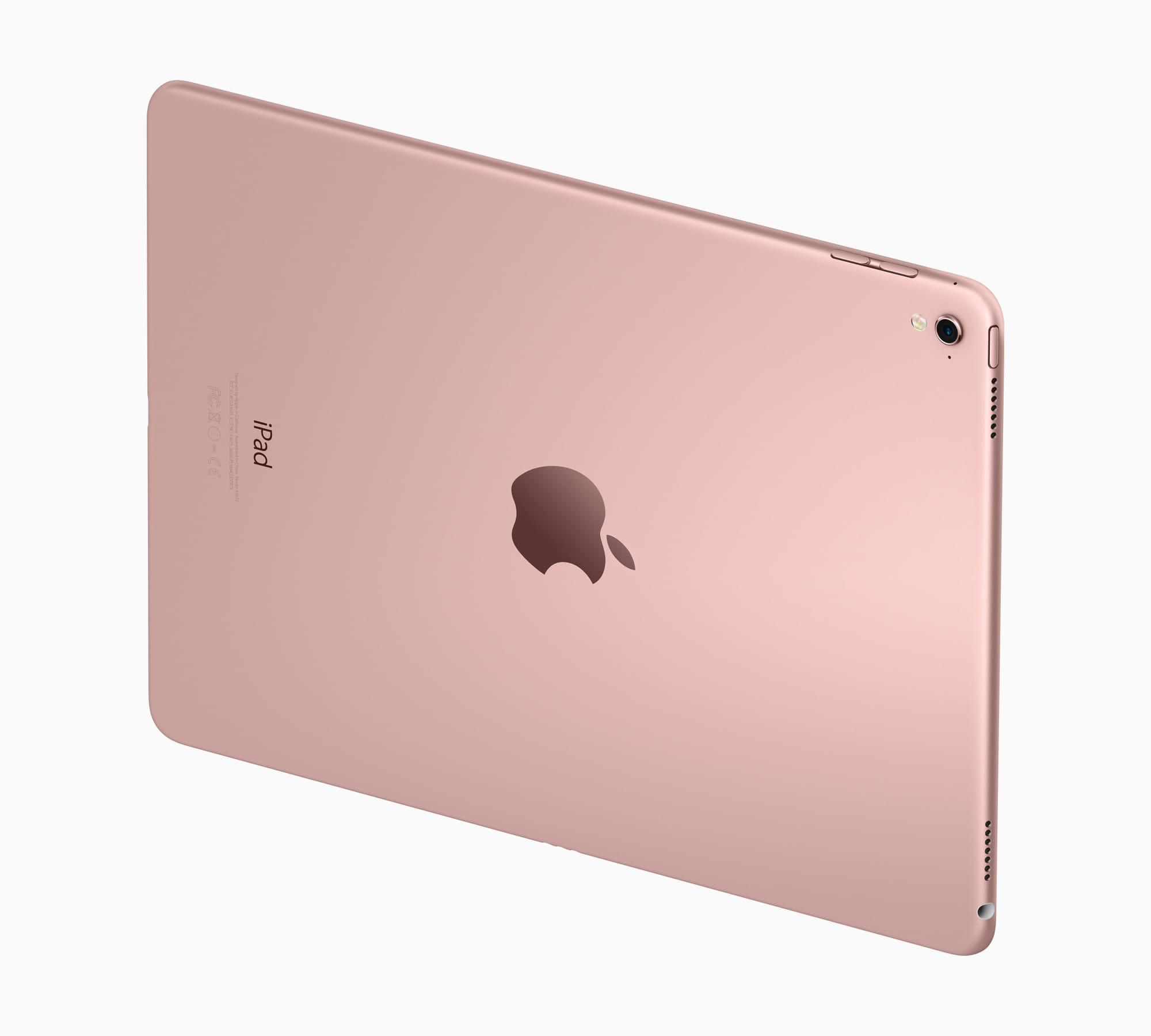 iPad Pro 9.7 side rose gold