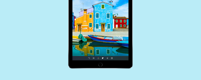 iPad Pro 9.7 wide colour gamut