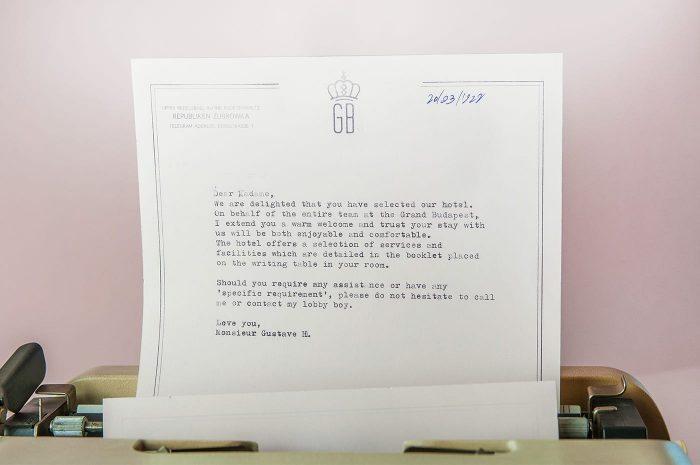 Tworzenie brandingu dla <em>Grand Budapest Hotel</em>