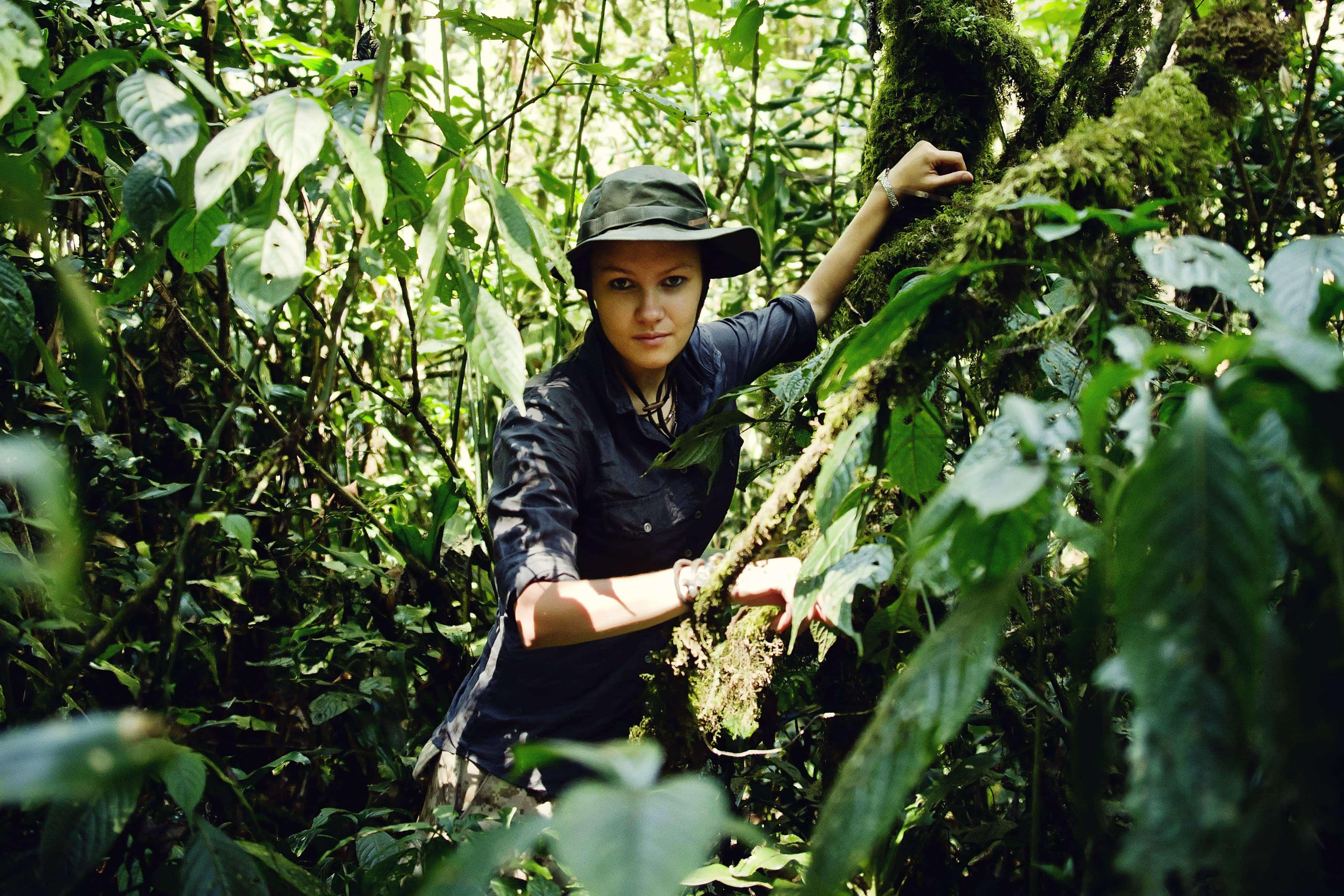 Dżungla Kakamega. Kenia, luty 2015.