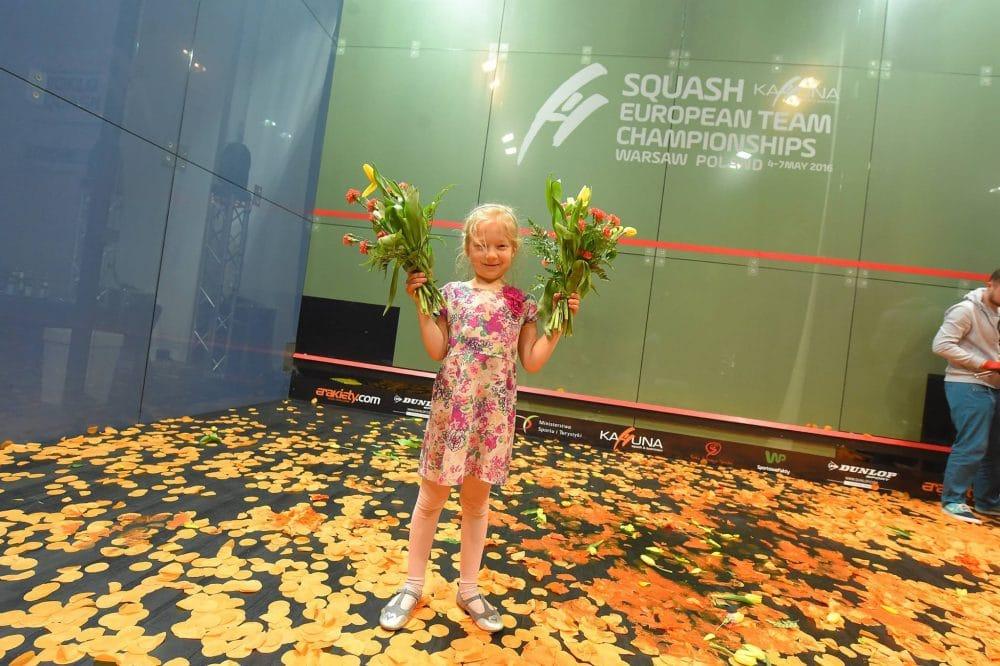 Drużynowe Mistrzostwa Europy wsquashu odbyły się wPolsce