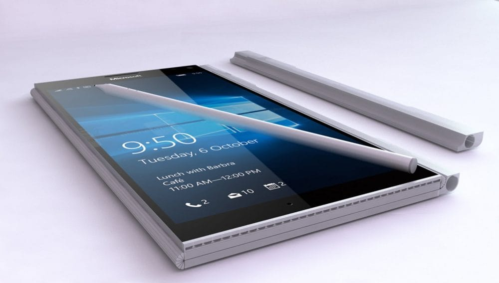 Mityczny Surface Phone