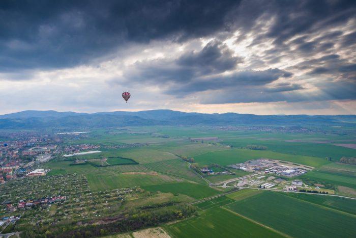 II Międzynarodowy Festiwal Balonów wKrzyżowej