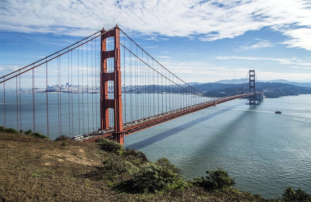 Wzgórza za Golden Gate