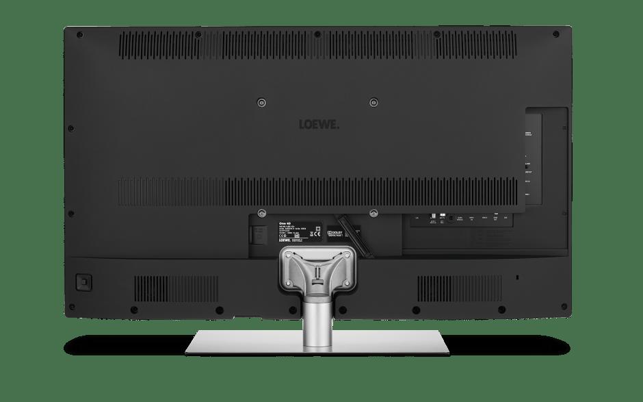Tył nowego telewizora Loewe
