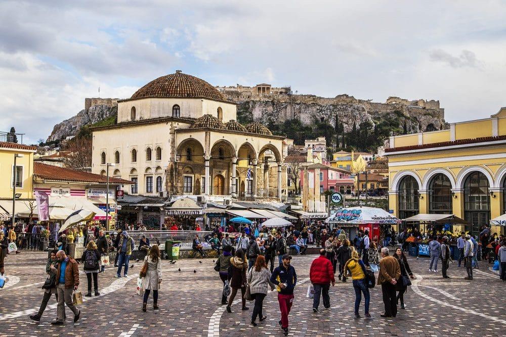 Przesiadka w Atenach