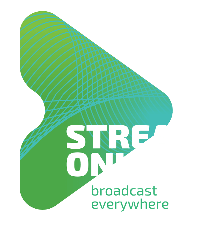 StreamOnline Logo White