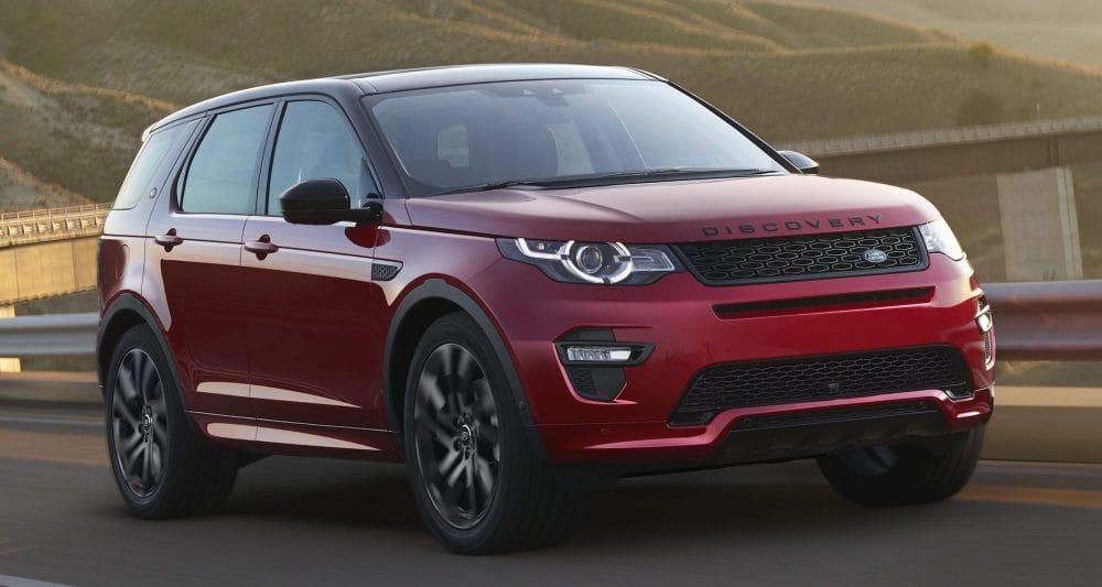 Land Rover Discovery Sport, Range Rover Evoque Coupé iPorsche Macan