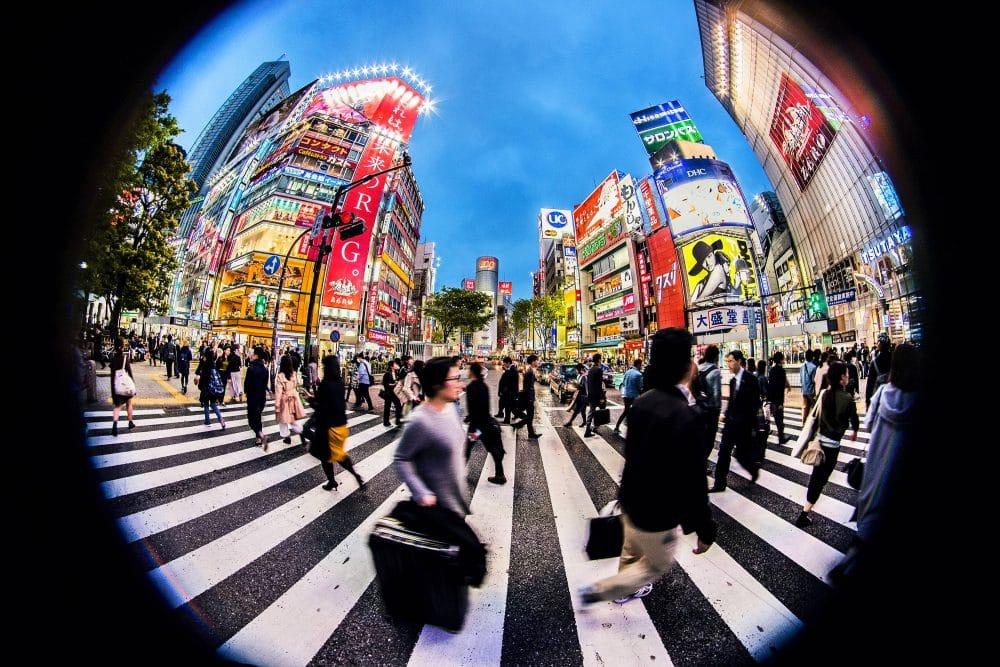 Shibuya wwydaniu fisheye