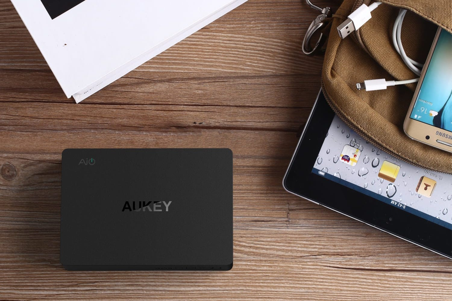 Aukey </p>                     </div> 		  <!--bof Product URL --> 										<!--eof Product URL --> 					<!--bof Quantity Discounts table --> 											<!--eof Quantity Discounts table --> 				</div> 				                       			</dd> 						<dt class=
