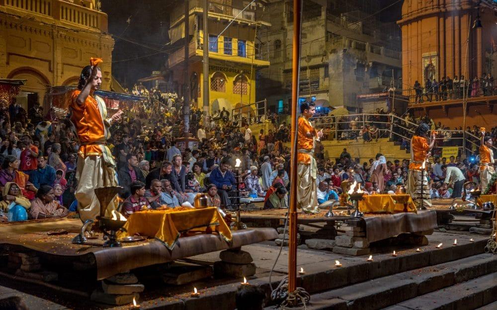Święte miasto Varanasi