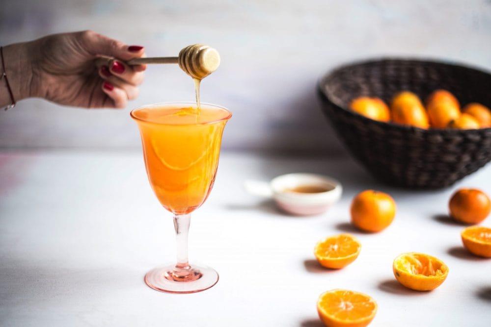 Koktajl mandarynkowo-rumowy