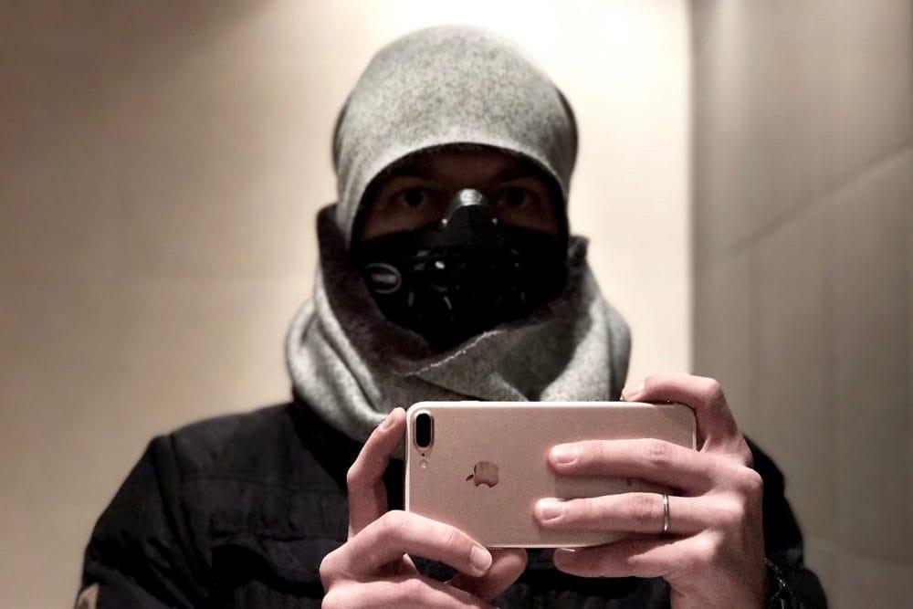 Maska antysmogowa ResproUK ireakcje ludzi na ulicy