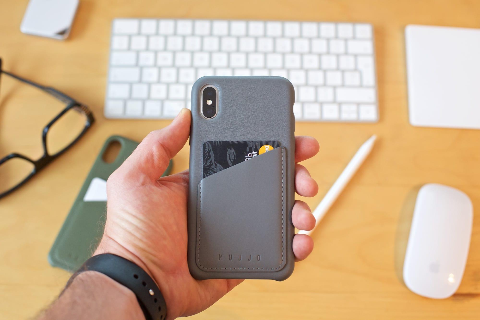 huge selection of 73c67 155e7 Mujjo Full Leather Wallet Case dla iPhone X | iMagazine