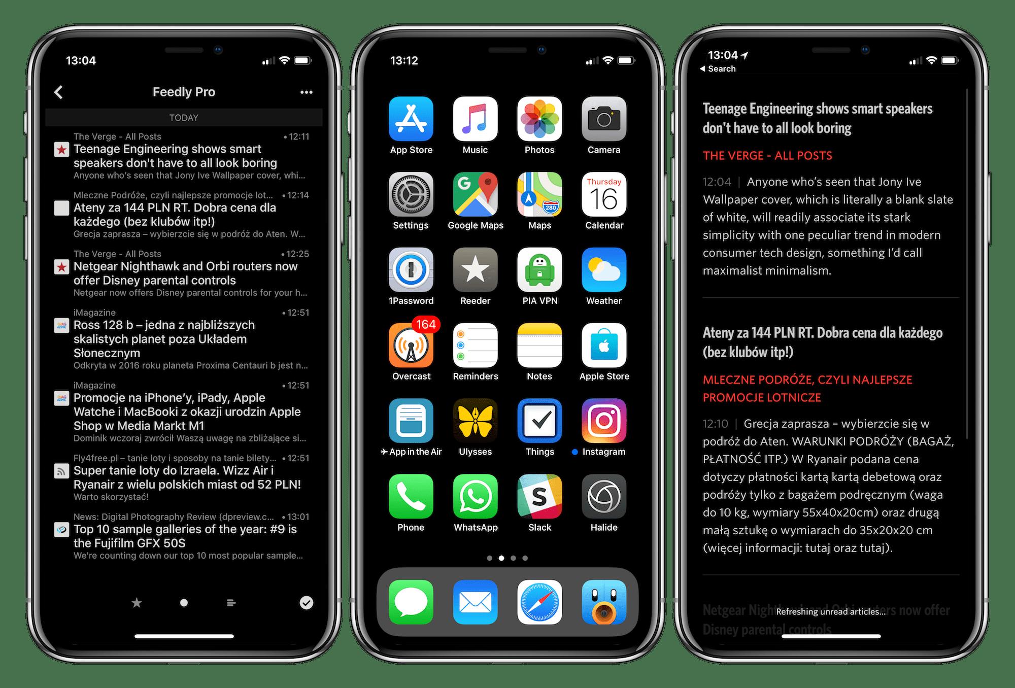 Aplikacja na iPhone