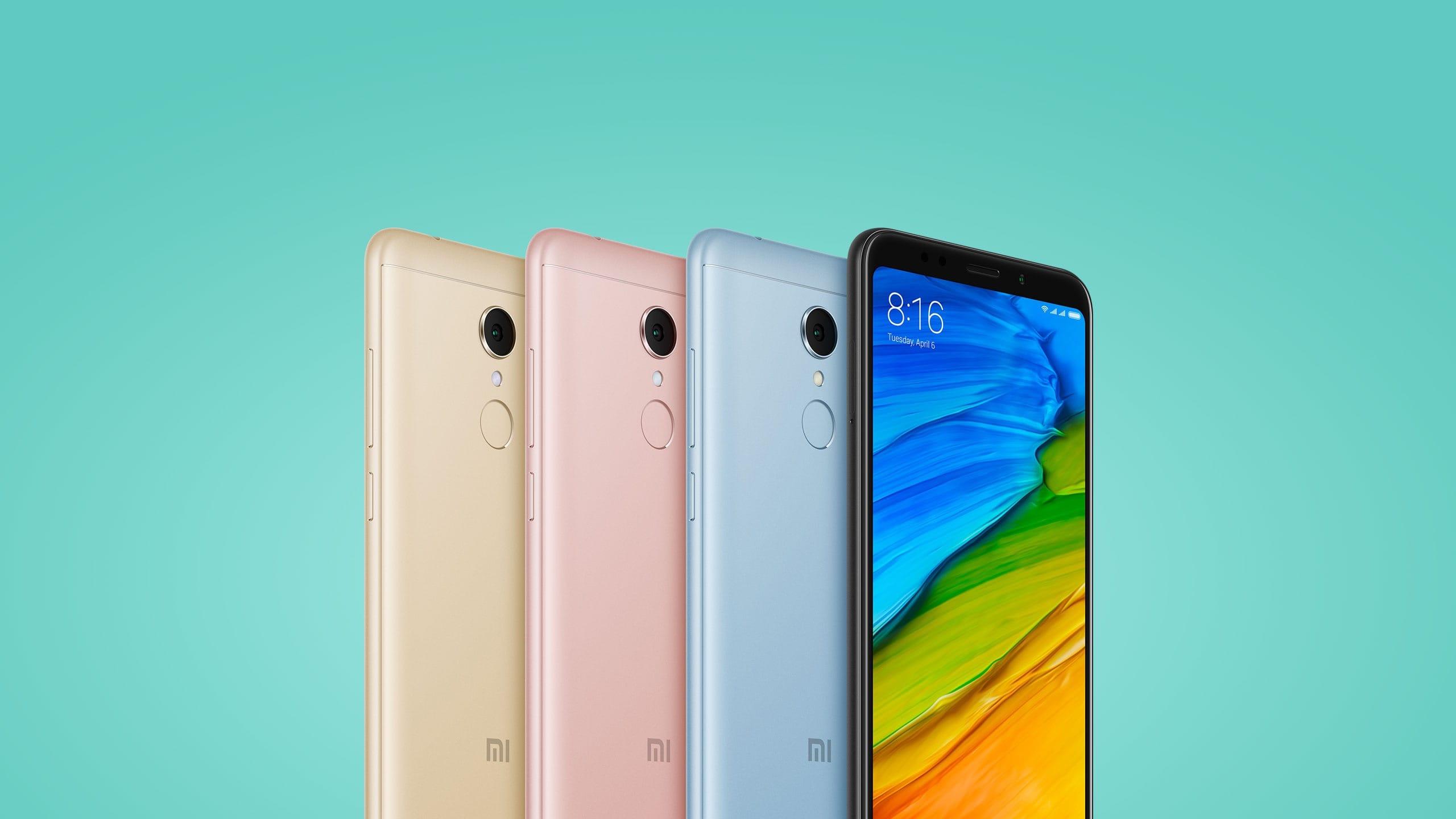 Rusza przedsprzedaż smartfon³w Xiaomi Redmi 5 i Redmi 5 Plus