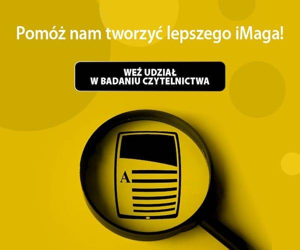 Badanie czytelnictwa iMagazine - styczeń 2020