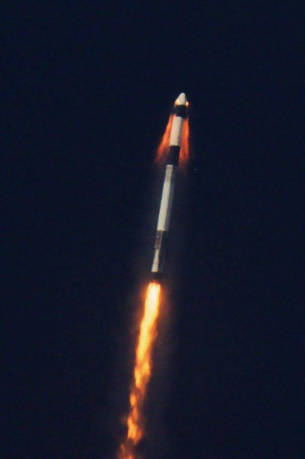 Abort Test - Test systemów ratunkowych kapsuły Dragon 2