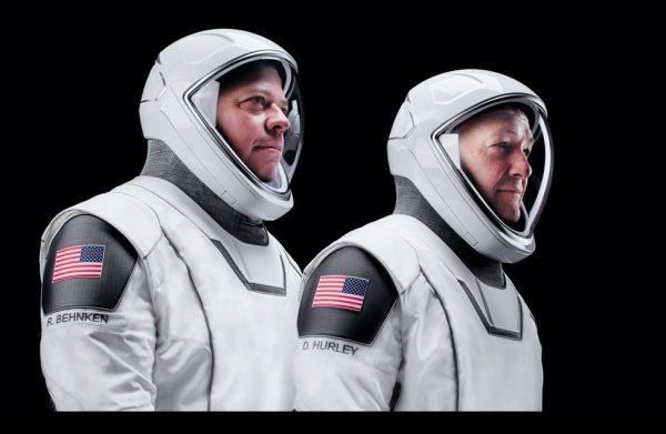 Astronauci Bob Behnken orazDoug Hurley
