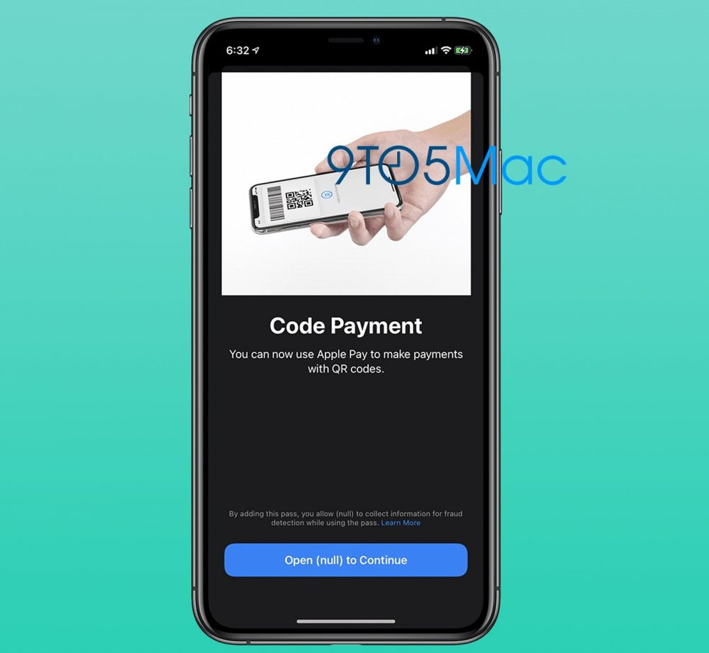 QR Apple Pay